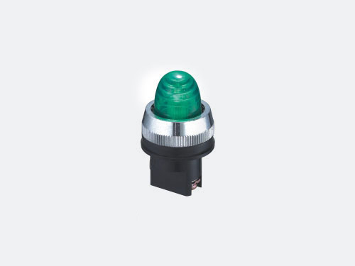 Spring return push button switch